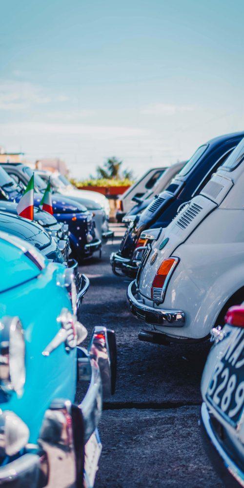 Photo de vieilles Fiat 500
