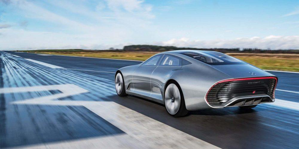 Photo du concept car IAA de Mercedes-Benz