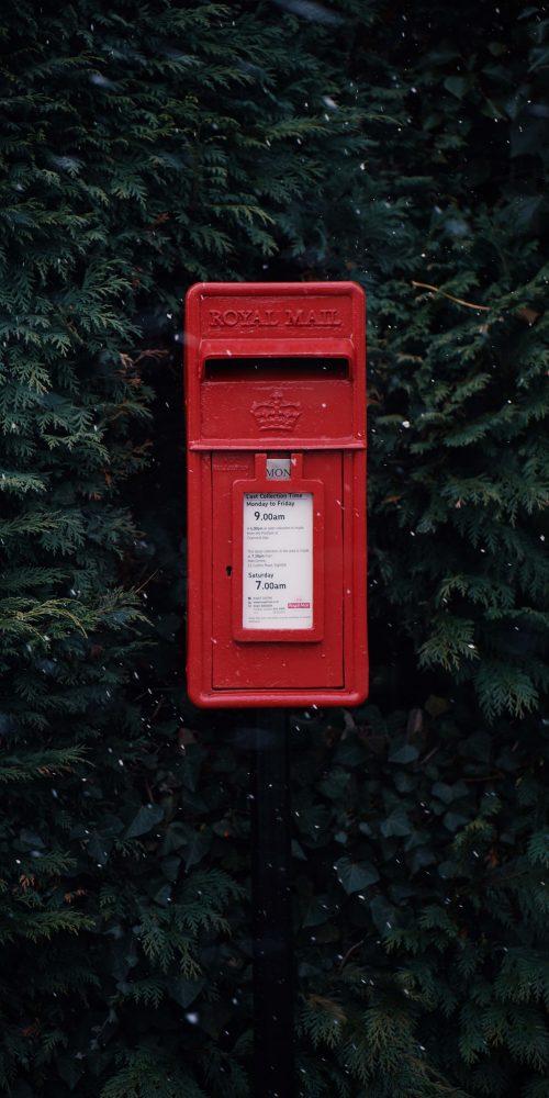 Photo d'une boîte aux lettres